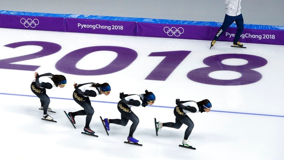 Two speed skaters blamed their loss on a third teammate who had fallen behind during the 500M team pursuit heats during Monday's race. Viewers demanded they be removed from the team for their treatment of their teammember.