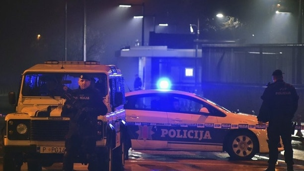 Explosion at USA  embassy in Montenegro; one killed