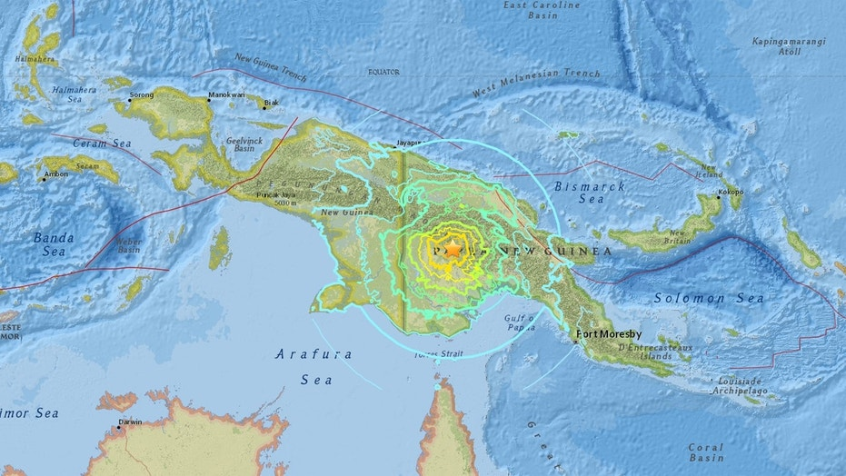 At least 5 dead in Papua New Guinea quake