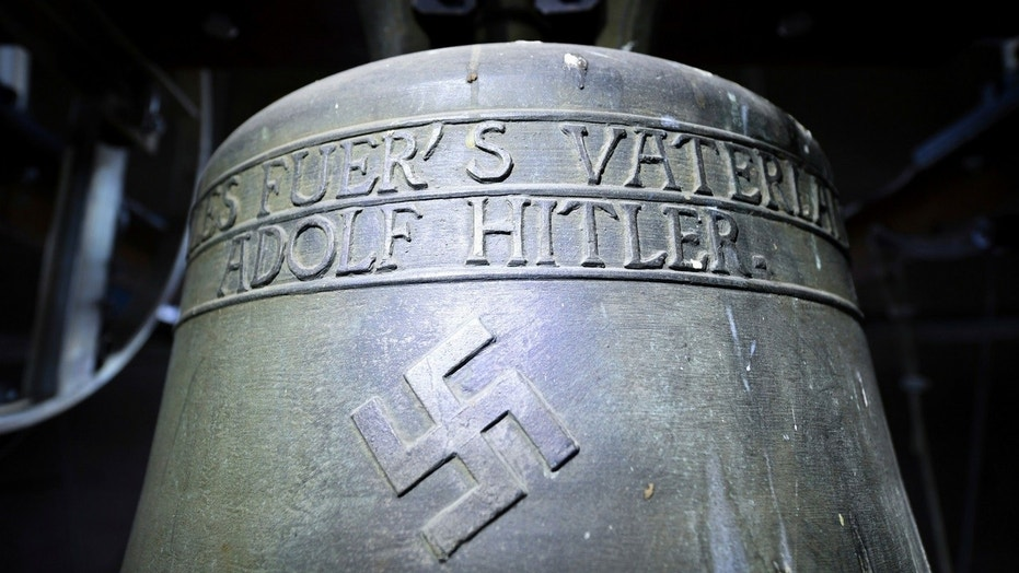 A small German town has voted to keep a controversial church bell dedicated to Adolf Hitler.