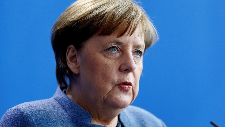 German Chancellor Angela Merkel admitted that no-go zones exist this week.