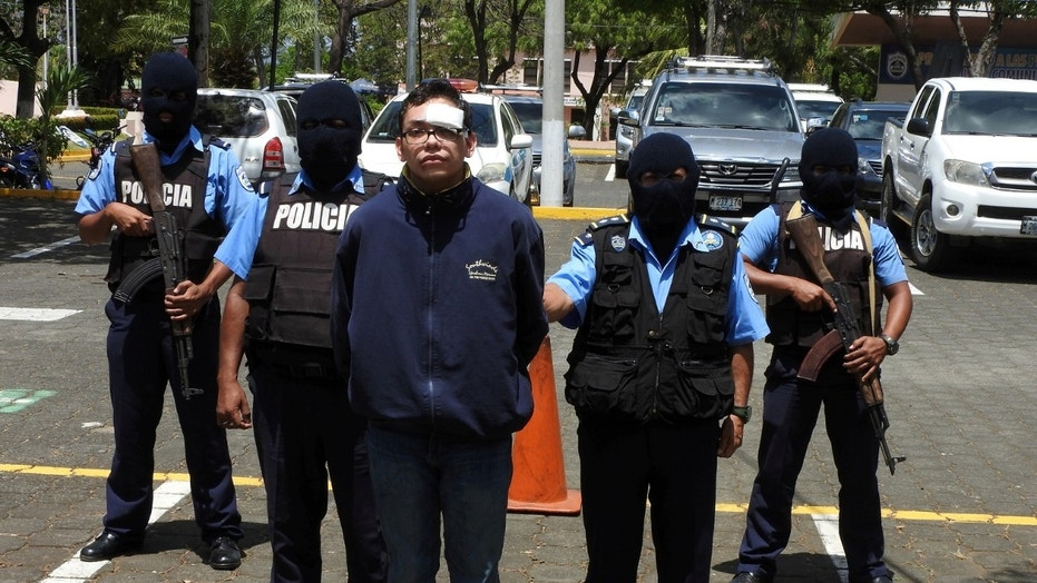 Nicaragua National Police arrested Orlando Tercero on Tuesday and transferred him to a prison 40 miles southwest of Managua, the capital.