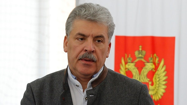 Pavel Grudinin kept his promise about the mustache 24.03.2018