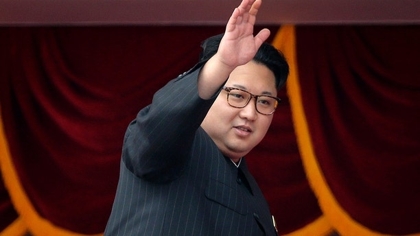 FILE - In this file photo taken Tuesday, May 10, 2016, North Korean leader Kim Jong Un waves at parade participants at the Kim Il Sung Square in Pyongyang, North Korea. Under the Marxist model, dynastic succession isn't supposed to happen. But Kim Il Sung, who ruled for 46 years until his death in 1994, jettisoned that thinking and groomed his son, Kim Jong Il, to lead. The hereditary dictatorship, now in its third generation under grandson Kim Jong Un, has proven resilient, lasting 70 years in direct conflict with the United States. The regime is possibly stronger than ever and is on the verge of having a viable nuclear weapon. (AP Photo/Wong Maye-E, File)