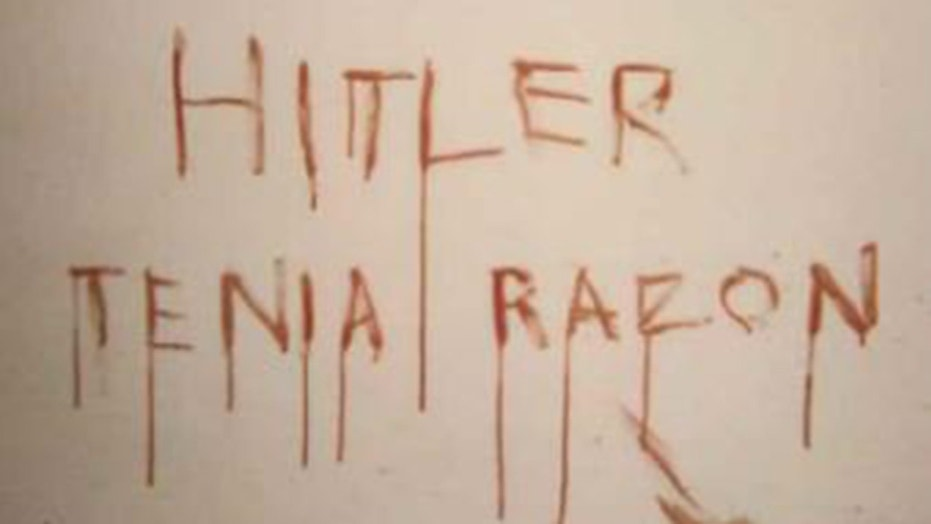 """A man is accused of killing a gay man in Barcelona before scrawling on a wall in blood that """"Hitler was right."""""""