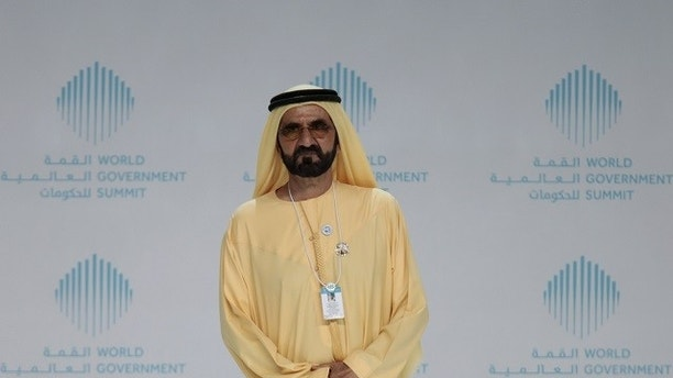 Sheikh Mohammed bin Rashid al-Maktoum, Prime Minister and Vice-President of the United Arab Emirates, and ruler of Dubai, attends the World Government Summit in Dubai, United Arab Emirates February 11, 2018. REUTERS/Christopher Pike??? - RC1C30E6D540