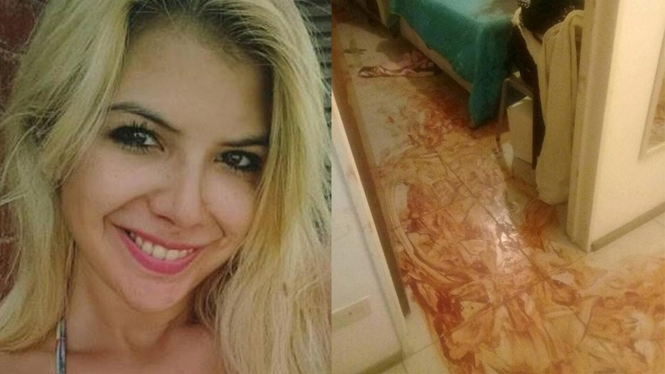Brenda Barattini, 26, of Argentina has been charged with allegedly cutting off her boyfriend's penis with gardening scissors. She said she was provoked because he showed his friends their homemade sex tape.