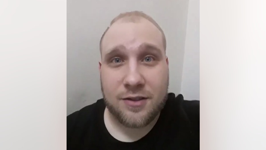 "Josh Holt, 26, can be seen in a Facebook video pleading for help from the U.S. government after claiming that the prison ""has fallen"" to people wanting to kill him."