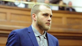 Henri van Breda arrives in the High Court in Cape Town, South Africa, Monday May 21, 2018 to hear the verdict in his case. Van Breda is accused of murdering three members of his family with an ax. (AP Photo/Nasied Manie)