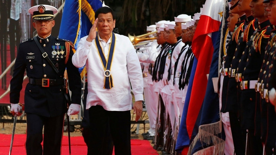 Philippine President Rodrigo Duterte told drug suspects to stay in jail if they hope to live longer.