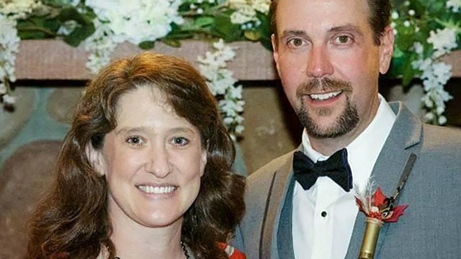 Janet Veit, left, and her husband, Brian Schumacher, right, died while on a fishing trip in Iceland on Sunday.