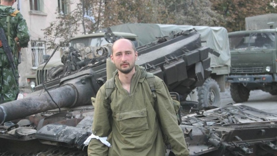 'Dead' anti-Kremlin journalist Arkady Babchenko appears at news conference