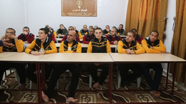 t6 Syrian opposition, out of jail space, fears threat of released ISIS prisoners Syrian opposition, out of jail space, fears threat of released ISIS prisoners 1526573511859