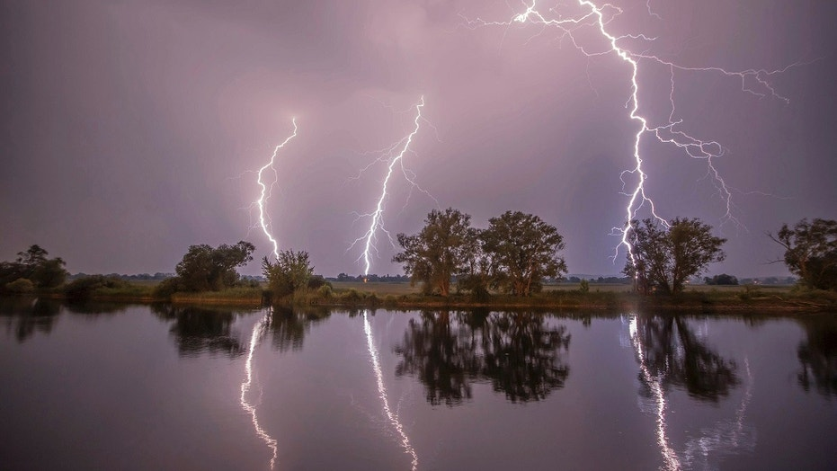 Two young women were seriously injured Sunday after lightning struck them while they were taking selfies in western Germany.  Two women taking selfies seriously injured after being struck by lightning Two women taking selfies seriously injured after being struck by lightning 1527603499489