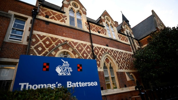 Thomas's Battersea, a private school attended by Prince George, the great-grandson of Queen Elizabeth, is seen in southwest London, Britain, September 13, 2017. REUTERS/Dylan Martinez - RC1E14FBDBA0