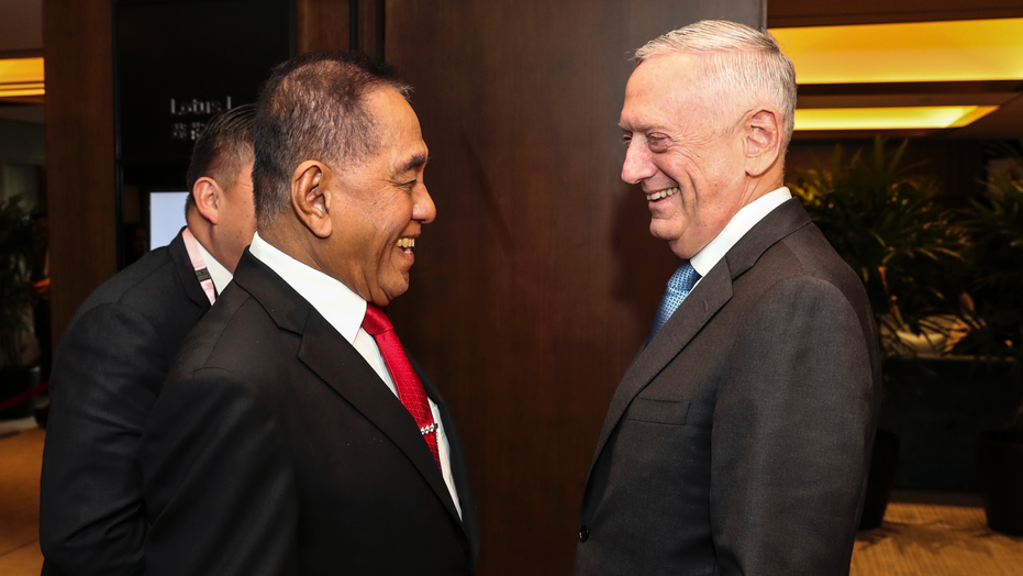 Defense Secretary Mattis Warns Of Chinese Intimidation In Disputed Waterway