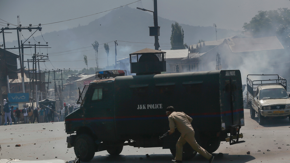 Kashmir unrest as protester run over by police dies