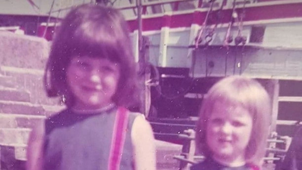Melanie (left) and Cara as young girls.  See Ross Parry story RPYFAMILY; A woman was delighted to be told her inseparable childhood friend was in fact her half-sister - following a FIVE decade long search for her biological father. Cara Jane Farrar Peterson, 52, says she finally feels like she 'belongs somewhere' being reintroduced to her childhood friend Karen Smith, 51, as her step-sister. Mum-of-seven Cara had complications in finding her real dad because her mum was married six times and hospitalised with a mental disorder during her early teens. But 50 years late mum-of-seven Cara had finally found solace in the knowledge that her childhood best friend Karen was her half-sister after a friend created a family tree. Cara and Karen were inseparable at school, but lost touch when Cara was taken into care. However, the pair reconnected via Facebook in 2015 which spurred Cara on