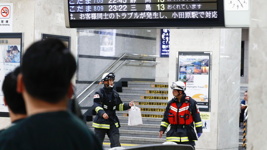 1 killed, 2 injured in stabbing incident on Japan's Shinkansen bullet train