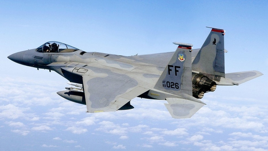 A U.S. Air Force F-15C fighter jet crashed off Okinawa, and the pilot was rescued.