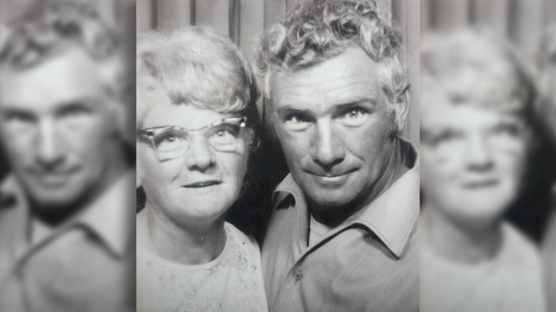 "A young Arnold and Amy Hardy who died within days of each other. See Ross Parry copy RPYCOUPLE: A devoted elderly couple married for nearly 50 years died within days of each other because ""they could not bear to be apart"". Arnold Hardy, 89, heartbreaking died without saying goodbye to his beloved wife Amy, 92, who passed away 10 days later. The pair both lived in different nursing homes and she was never told of his death but sensed ""something was wrong"", according to family. In a fitting tribute to the dedicated couple, their ashes are now buried in plots side-by-side at a churchyard in Warsop, Notts."