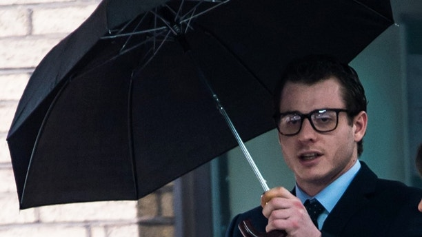 Pic shows Alessio BianchiThe inquest of a woman who fell 80ft to her death days after her boyfriend threatened to release a revenge porn video of her has been delayed as prosecutors decide whether he should face a manslaughter charge. Damilya Jossipalenya, 24, killed herself a week after Alessio Bianchi, said he would send the porn clip along with film of her taking cocaine to her family on 25 May last year.The 26-year-old Italian then pushed her out of his Paddington apartment during a row in the evening of 1 June and threw her into the water feature outside.SEE STORY CENTRAL NEWS