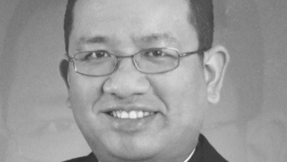 Richmond Nilo was shot to death at the altar just as he was preparing to celebrate Mass Sunday at a chapel in Mayamot, the Catholic Bishops' Conference of the Philippines says.