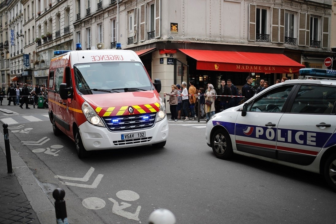 French police responding to reported hostage situation in central Paris