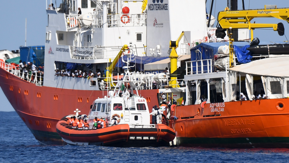 Four-country migrant ship standoff escalates as Italy demands apology from France