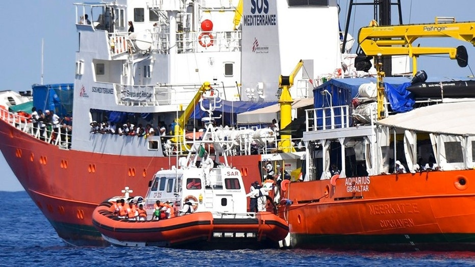 italy s populist government won t permit boats carrying migrants to rh foxnews com