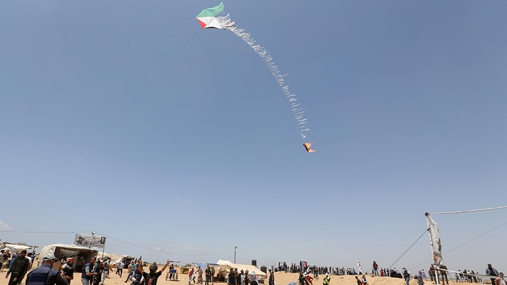 Hamas' 'terror kites' and 'arson balloons' latest destructive weapons in war against Israel | Fox News