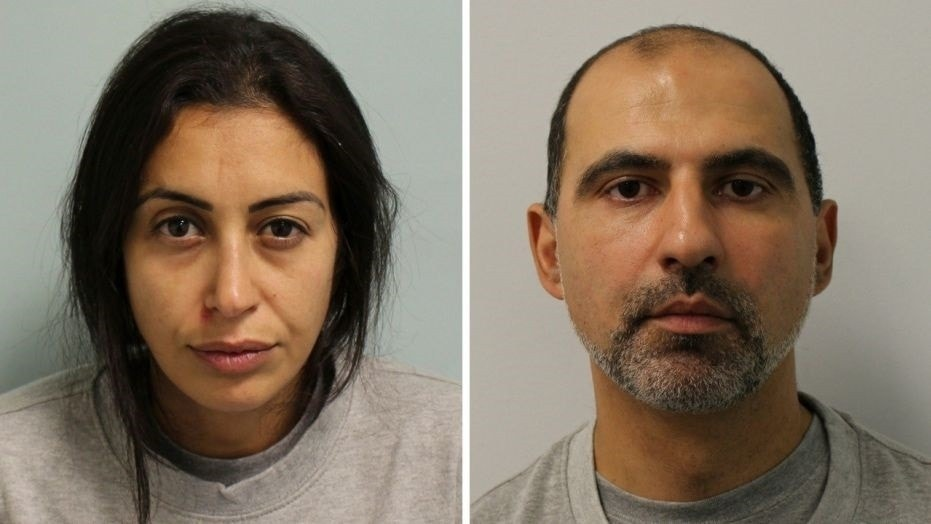 Sabrina Kouider, 35, and Ouissem Medouni, 40, were sentenced to at least 30 years in prison after they were convicted last month of murdering their French nanny.   Pop star's ex-girlfriend and her boyfriend get 30 years in prison for murdering, burning nanny in garden 1530029493211