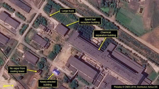 NK-3  North Korea continues construction of nuclear research facility despite agreement to 'denuclearize': report 1530127473334