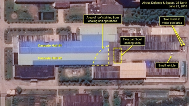 NK-4  North Korea continues construction of nuclear research facility despite agreement to 'denuclearize': report 1530127203144