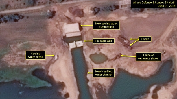 NK-1  North Korea continues construction of nuclear research facility despite agreement to 'denuclearize': report 1530127541365