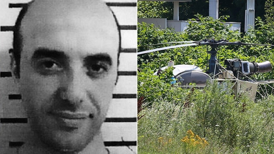 French robber Redoine Faid broke free from a jail south of Paris using a helicopter on Sunday, sparking a massive manhunt around the French capital.