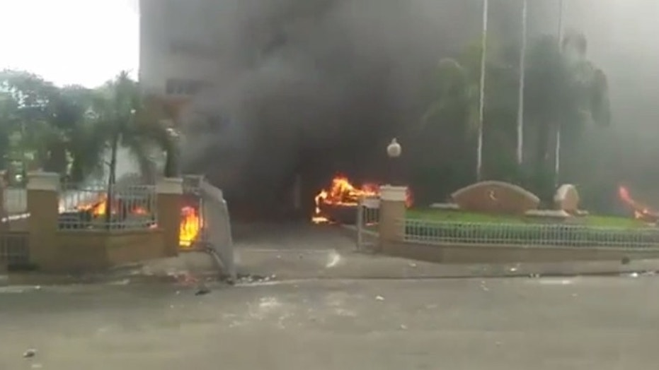 Protests over rising fuel protests continue to grip Haiti