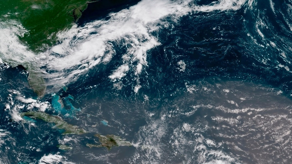 'Disorganized' Tropical Storm Beryl moving a little faster, but blowing no harder