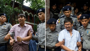 Wa Lone and Kyaw Soe Oo Reuter Journalists
