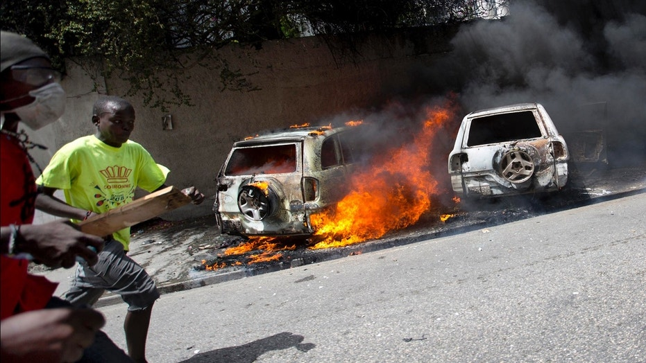 Haiti's prime minister resigns amid deadly demonstrations over fuel prices