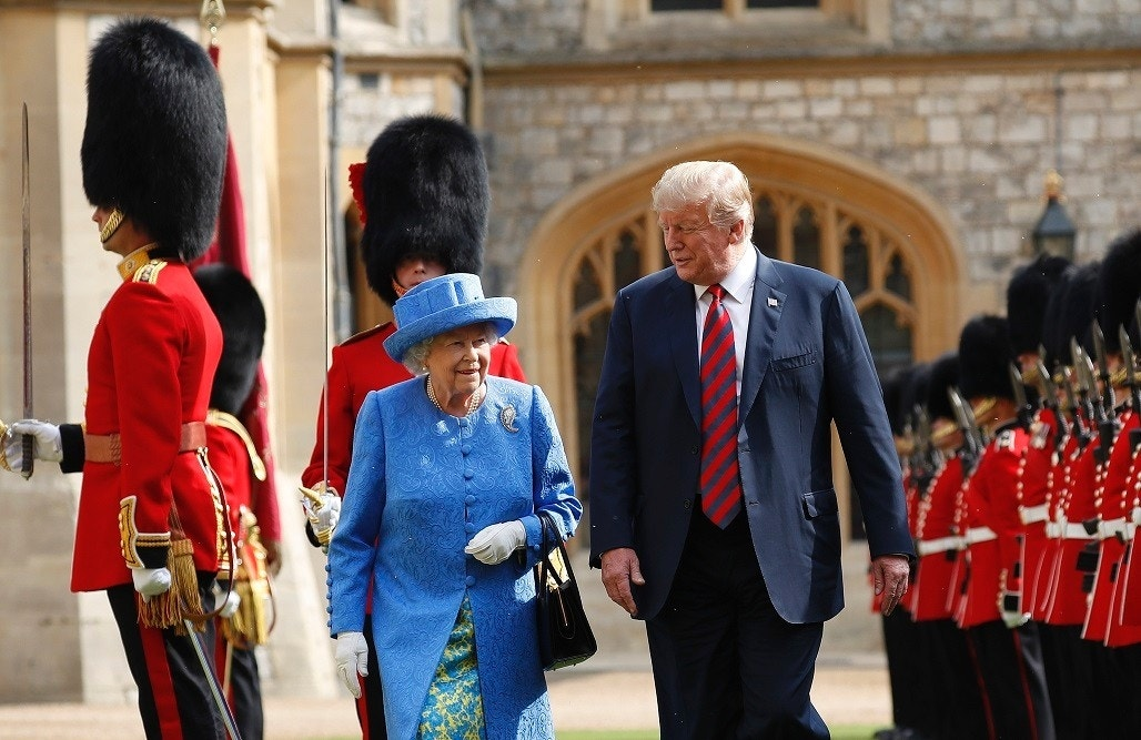 Queen Elizabeth II wore brooch Obamas gifted her on day Trump arrived in the UK: report