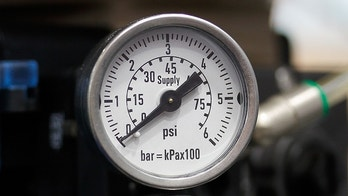 Manometers indicates the pressure of the pipelines.