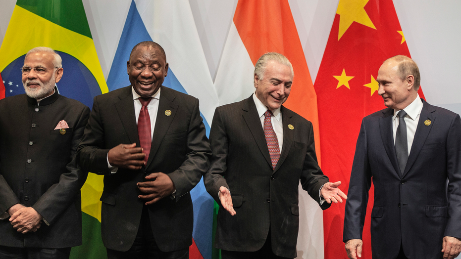 Brics nations pledge unity against USA trade war threat