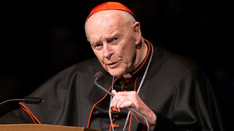 Pope Francis accepted Cardinal Theodore McCarrick's resignation from the College of Cardinals.