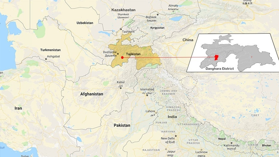 Four tourists were killed, including two Americans and three others injured on a bicycle ride in southern Tajikistan in Central Asia on Sunday, when a car hit them before fleeing the scene, authorities said.