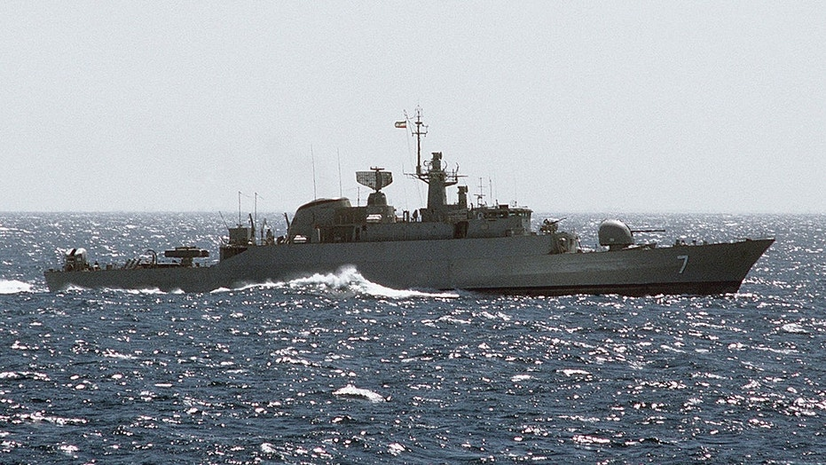 Iran's navy assembles near mouth of Persian Gulf, US 'monitoring it closely'