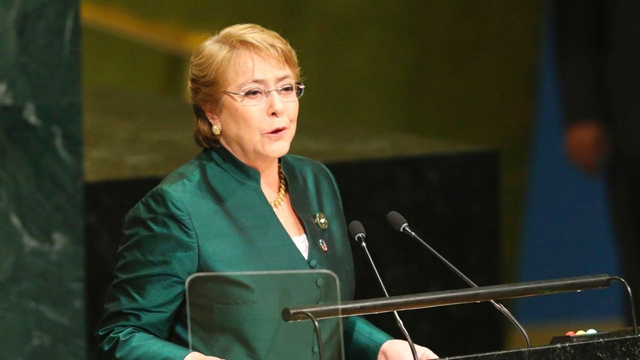 Michelle Bachelet was nominated this week to head the U.N. human rights agency.