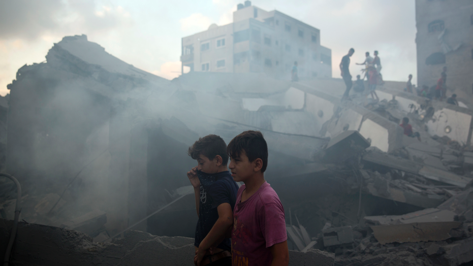 The Latest: Israel says it struck Hamas position in Gaza