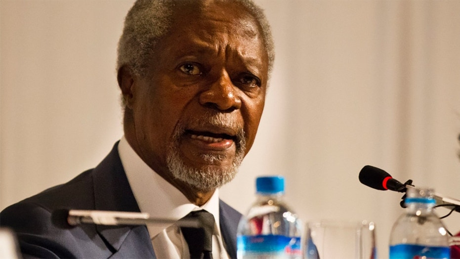 Kofi Annan led the United Nations from 1997 to 2006.