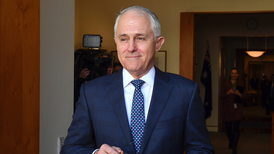 Leadership is declared vacant ahead of crucial party meeting by Malcolm Turnbull
